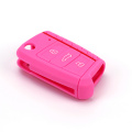 Various colors silicone vw golf remote key cover