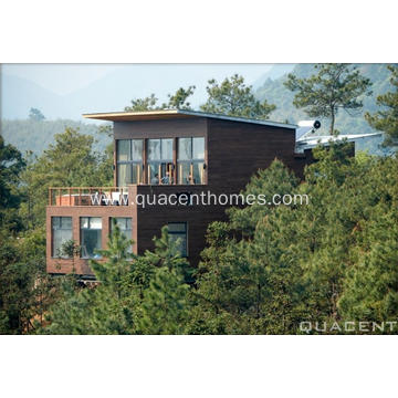 Mountain Resort Building Prefab Wood Villa Hotel
