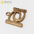 Hardware Accessories Custom Logo Stamped Metal Tags