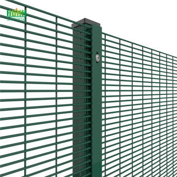 anti-climb fence rollers 358 security mesh fence
