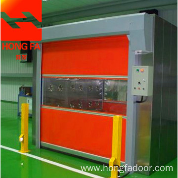 High speed door for clean room