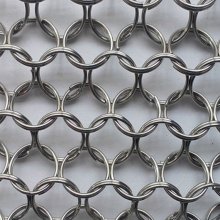 Ring Stainless Steel Decorative Mesh Decorative Screen