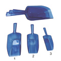 3 Pieces Multi-purpose Kitchen Scoops Ice Scoop