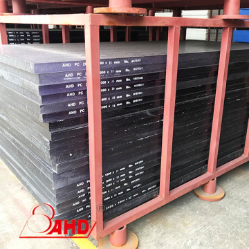 Polycarbonate Solid Sheets UV Resistant