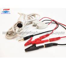 Big discounting for Medical Wire Harness medical alligator clip to DIN and male banana plug export to Germany Suppliers