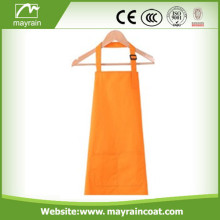 Orange Color Polyester Apron