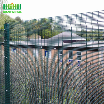 Cheap welded wire steel security fence