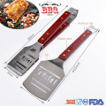 DAD bbq tools set with thermometer fork