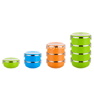 Multi Tiers Leakproof Stainless Steel Food Container