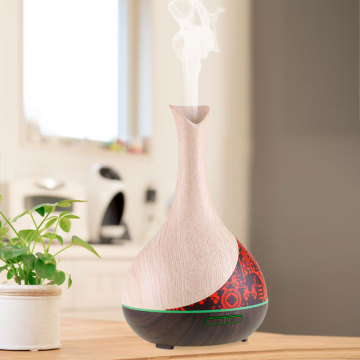 Ultrasonic Aromatherapy Essential Oil Diffuser Wood