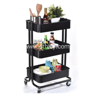 3-Tier Rolling Storage Utility Organization Cart