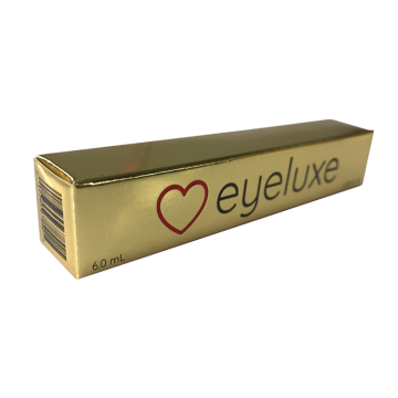Custom Printed Paper Gold Card Lipstick Box