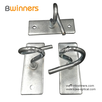 C Type Drop Cable Wire Clamp Draw Hook