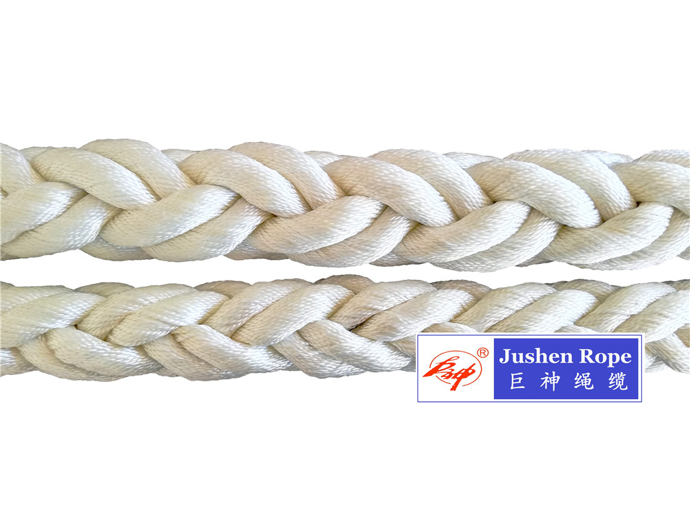 High strength Nylon(Unilon) mooring rope