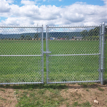 Coated Security Wire Mesh Chain Link Fence