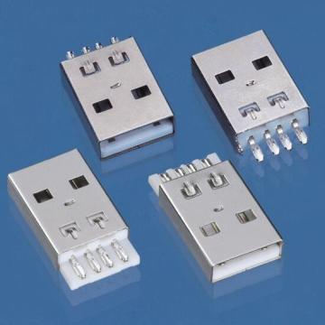 USB A Type Plug Short Lead Solder