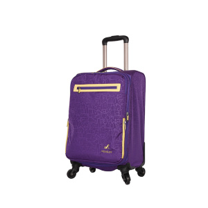 Waterproof polyester EVA soft travel luggage