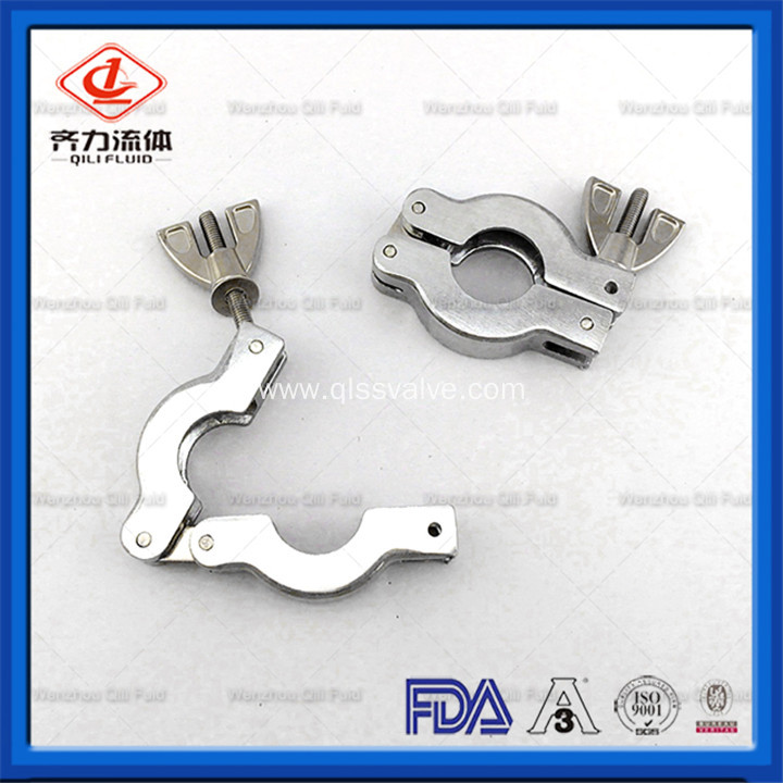 Stainless Steel Vacuum Quick Fitting Clamp