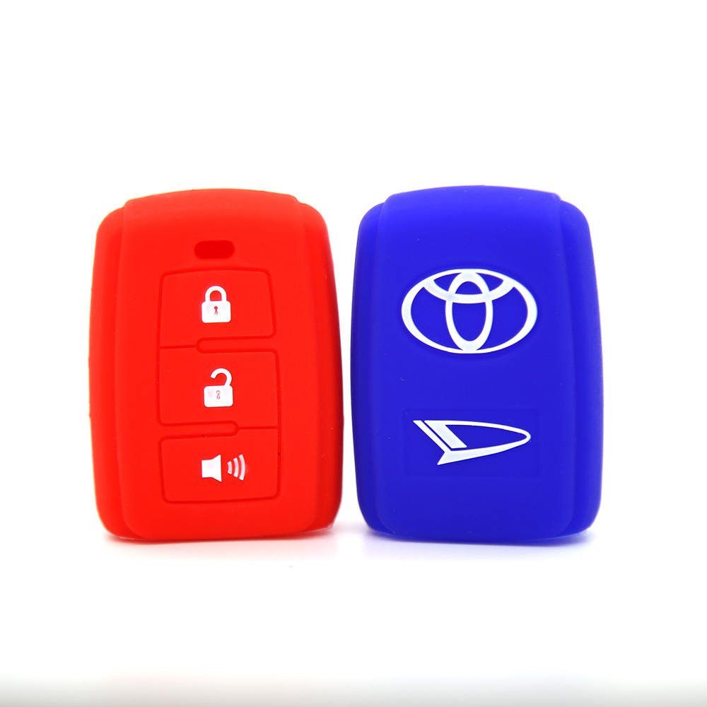 Rubber Toyota Car key Shell