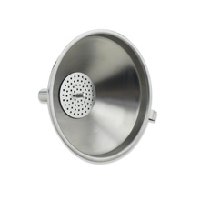 Stainless Steel Kitchen Funnel with Detachable Strainer