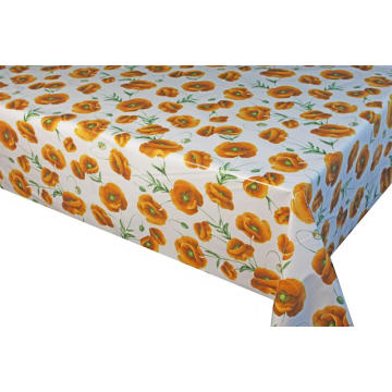 Elegant Tablecloth with Non woven backing Extrusion Process