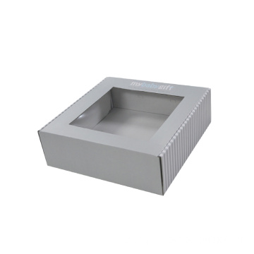 Window Design Corrugated Paper Box