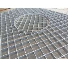 Low MOQ for Pressure Locked Steel Grating Carbon Galvanized Plug Steel Grating export to Netherlands Antilles Factory