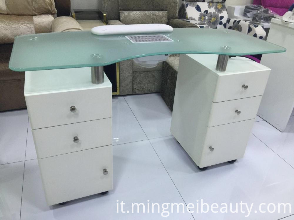 Glass manicure Table