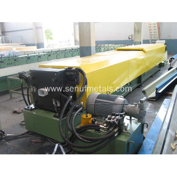 Downpipe roll forming machine steel pipe production line