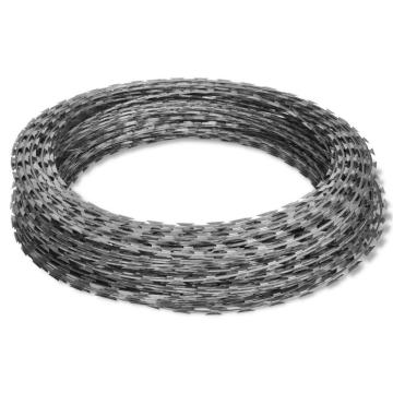 Galvanized or Stainless Steel Razor Wire