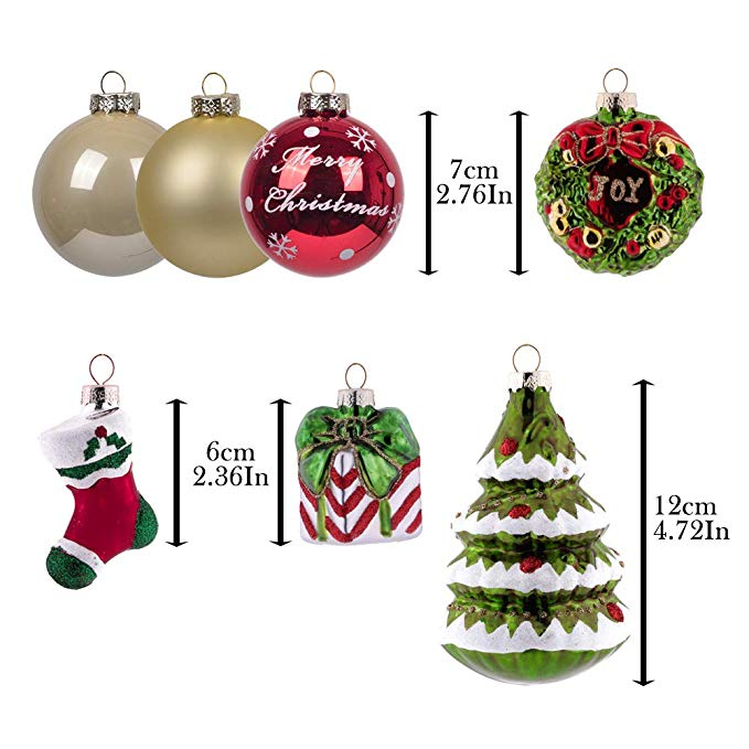 Glass Ornaments In Set