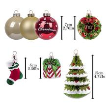 OEM/ODM for Small Christmas Ball Ornaments Customized Christmas Hand Painted Glass Ornament export to Australia Factory