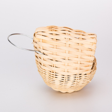 Special for China Bird Houses,Hooded Bird Nest,Wood Bird House,Rattan Bird House Manufacturer Egg Shaped Small Rattan Bird Nest supply to Portugal Manufacturers