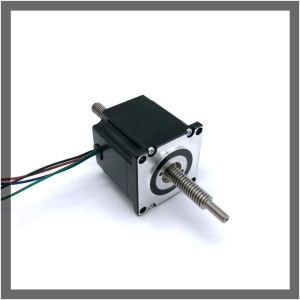 PriceList for Stepping Motor NEMA23/57mm Linear Stepper Motor(0.9°) through shaft type supply to Guinea Exporter