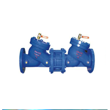 Double block bleed anti-pollution isolating shut off valve