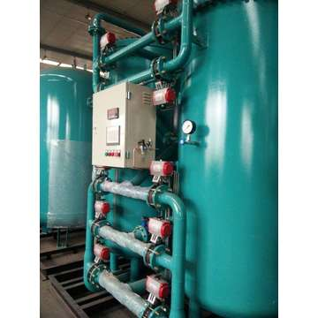 Industrial machine for producing nitrogen gas