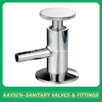 Sanitary yogurt sample valves
