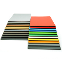 Blue and black gray titanium zinc composite panel