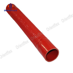 Flexible silicone coolant radiator hose