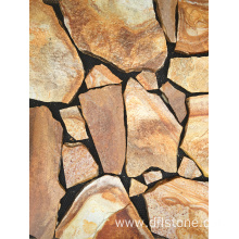 Factory source for Paving Stone Mats Golden Natural Paving Stone Tile for Outside Floor supply to South Korea Manufacturers