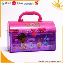 Plastic Case Stationery Set For School Supplies