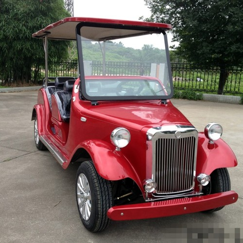 Electric Classic Golf Cart, Modern Appearance