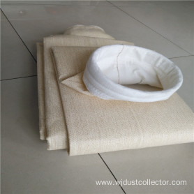 Aramid needle punched nonwoven filtration felt filterbag