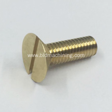 Custom Machining Brass Bolts Components