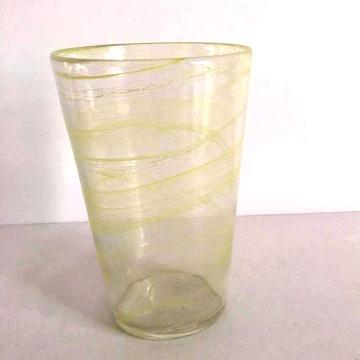 colorful finish hiball glass for water glass cup