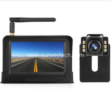 4.3Inch Wireless Rearview Monitor with Reverse Camera
