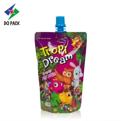 200ml Fruit juice stand up pouch with spout