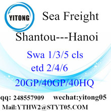 Ocean Freight From Shantou to Hanoi