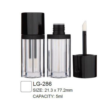 Square Plastic Lip Gloss Packaging