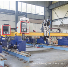 Flame plasma Gantry plasma cutter machine
